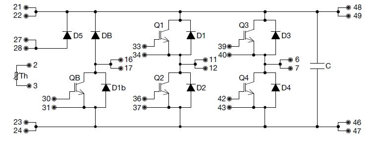 архитектура IGBT-модуля
