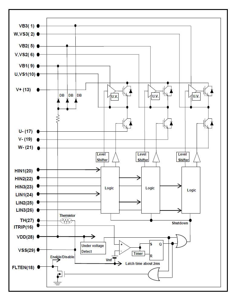 схем управления трёхфазным